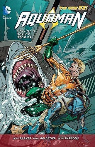 Comic Acuaman Vol 5 Sea Of Storms