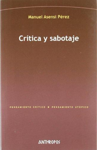 Critica Y Sabotaje