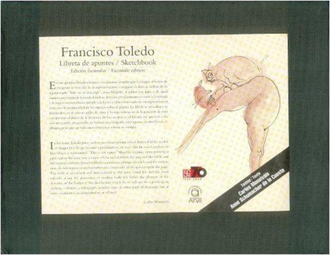 Libreta de apuntes / Sketchbook. Edición facsimilar / facsímile edition