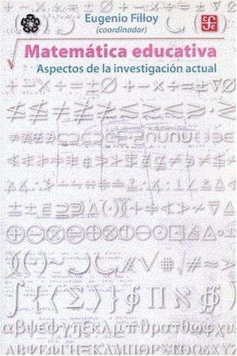 Matemática educativa. Aspectos de la investigación actual