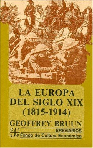 Europa del siglo XIX, 1815-1914, La