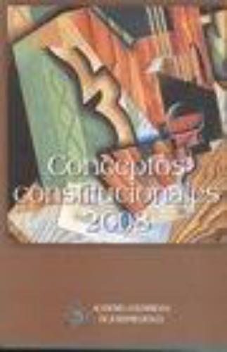 Conceptos Constitucionales 2008