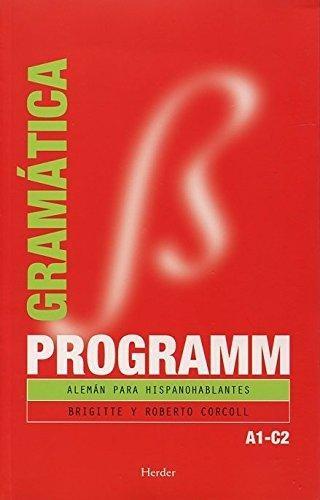 Programm Gramatica. Aleman Para Hispanohablantes