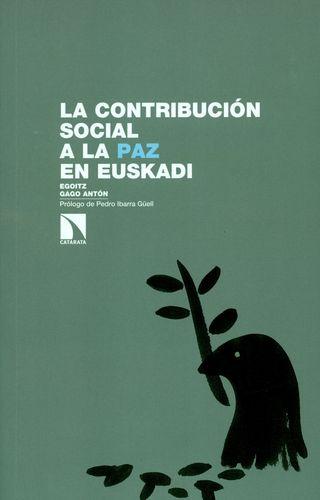 Contribucion Social A La Paz En Euskadi, La