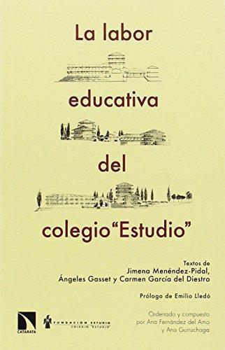 Labor Educativa Del Colegio Estudio, La