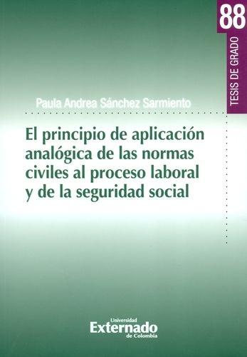 Principio De Aplicacion Analogica De Las Normas Civiles Al Proceso Laboral Y De La Seguridad Social, El