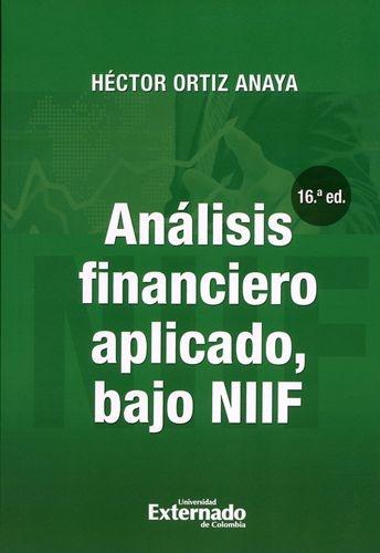Analisis Financiero Aplicado 16ª Edicion Bajo Niif