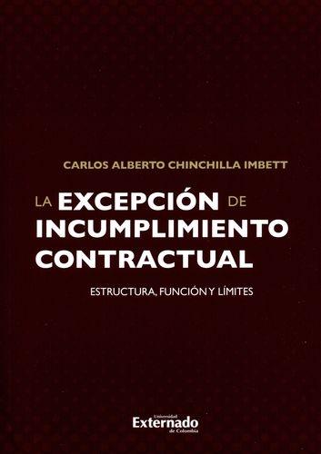 Excepcion De Incumplimiento Contractual, La