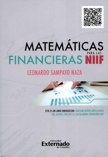 Matematicas Financieras Para Las Niff
