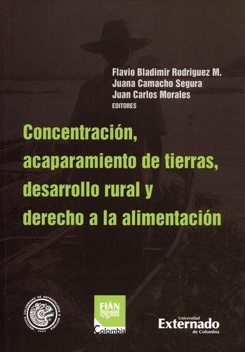 Concentracion Acaparamiento De Tierras Desarrollo Rural Y Derecho A La Alimentacion