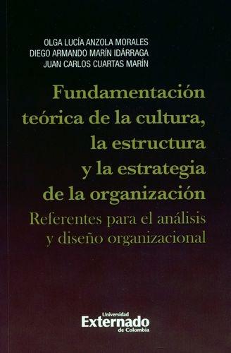 Fundamentacion Teorica De La Cultura La Estructura Y La Estrategia De La Organizacion