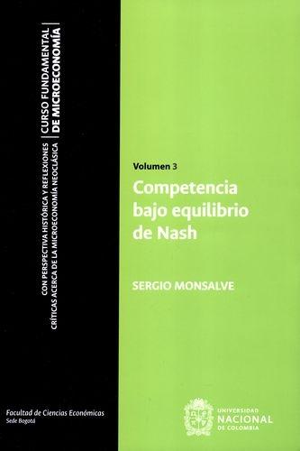 Competencia Bajo Equilibrio Vol.3 De Nash