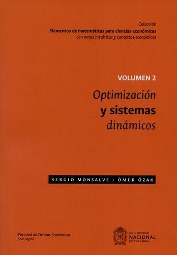 Optimizacion Y Sistemas Dinamicos Ii