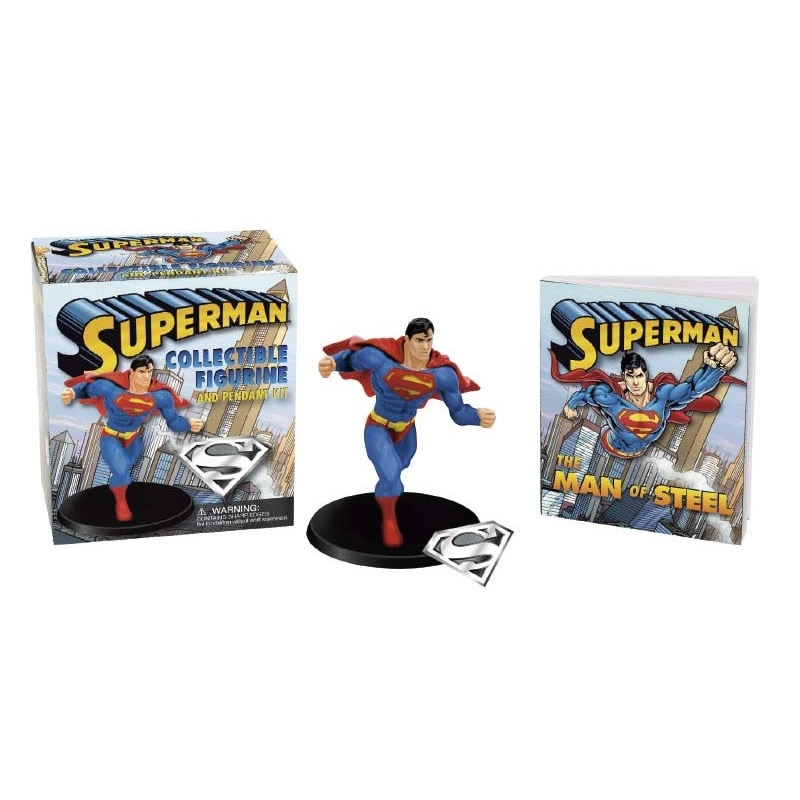 Minikit Superman Collectible Figurine And Pen