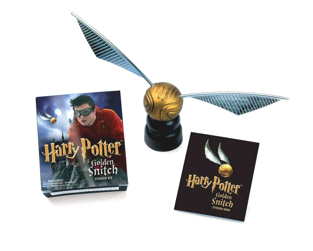 Minikit Harry Potter Golden Snitch Stick Kit
