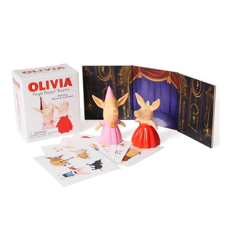 Minikit Olivia Finger Puppet Theatre