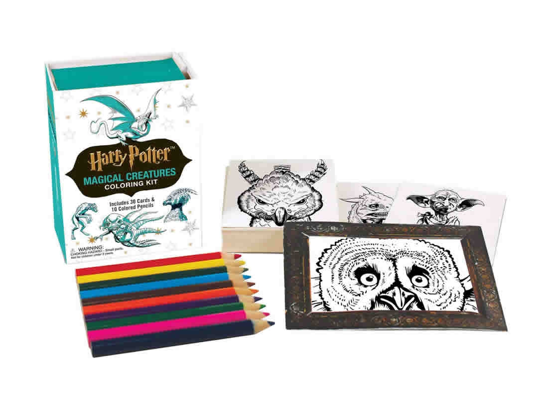 Minikit Harry Potter Magical Creatures Colori