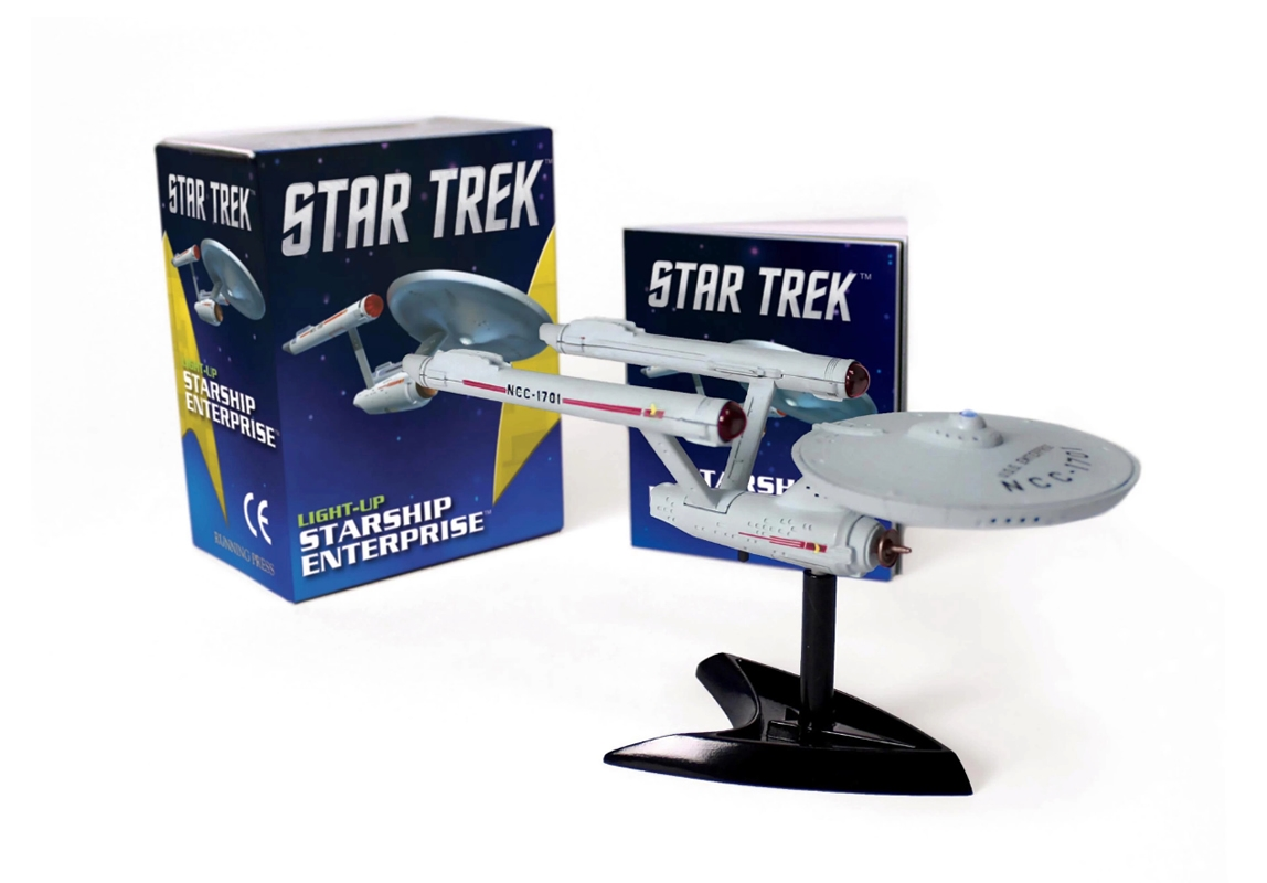 Minikit Star Trek: Light-Up Starship Enterprise