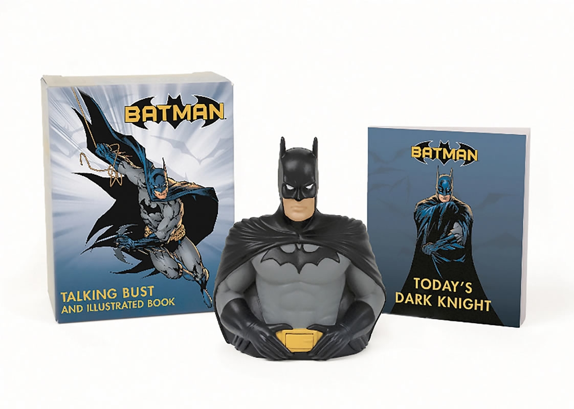 Minikit Batman Talking Bust And Illustrated B