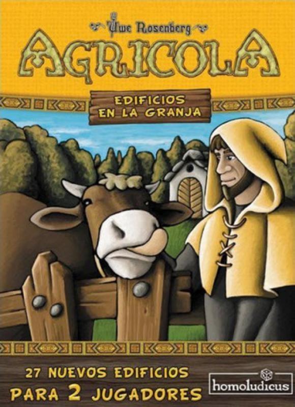 Agricola: Edificios En La Granja (Exp)