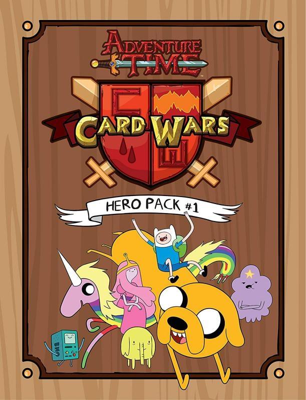 Adventure Time - Card Wars - Hero Pack N.1