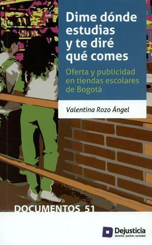 Dime Donde Estudias Y Te Dire Que Comes. Oferta Y Publicidad En Tiendas Escolares De Bogota