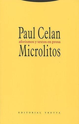 Microlitos Aforismos Y Textos En Prosa