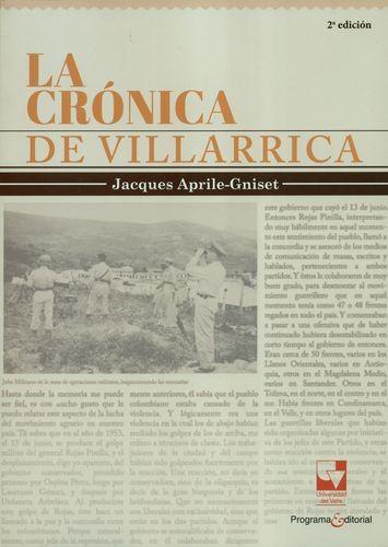 Cronica De Villarrica, La