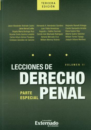 Lecciones De Derecho Penal (3ª Ed)(Ii) Parte Especial