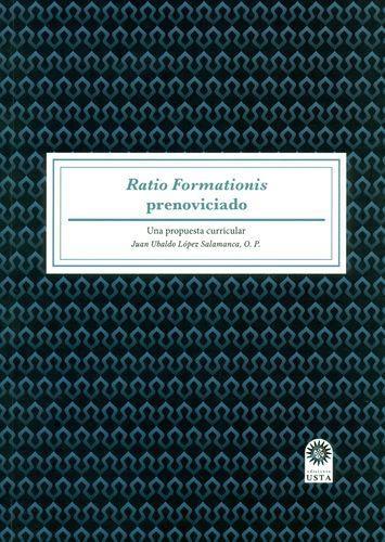 Ratio Formationis Prenoviciado Una Propuesta Curricular