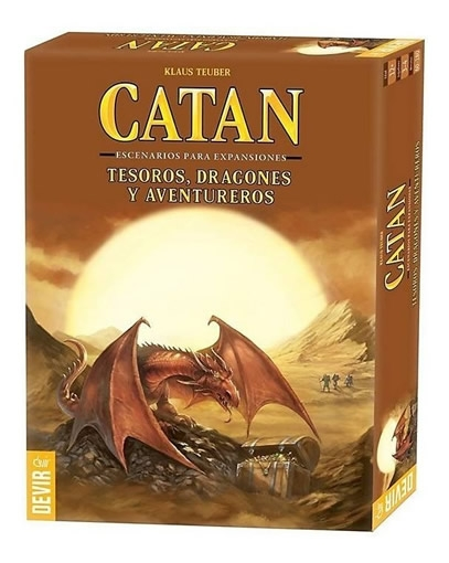 Catan: Dragones, Tesoros Y Aventureros (Exp)