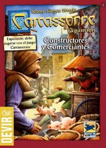 Carcassonne: Constructores Y Comerciantes (Exp)