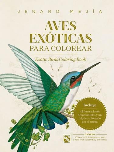 Aves Exóticas Para Colorear