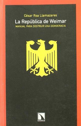 Republica De Weimar, La