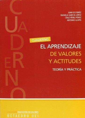 Aprendizaje De Valores Y Actitudes. Teoria Y Practica, El