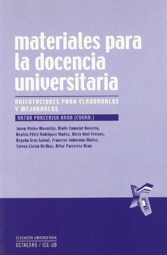 Materiales Para La Docencia Universitaria