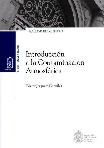 Introduccion A La Contaminacion Atmosferica