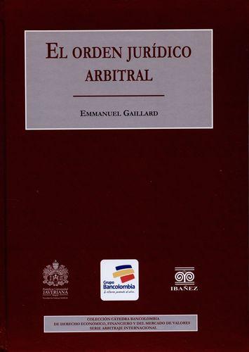 Orden Juridico Arbitral, El