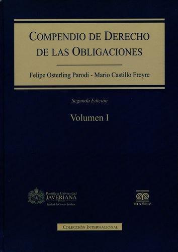 Compendio De Derecho (Vol.I-Ii) De Las Obligaciones