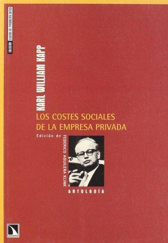 Costes Sociales De La Empresa Privada, Los
