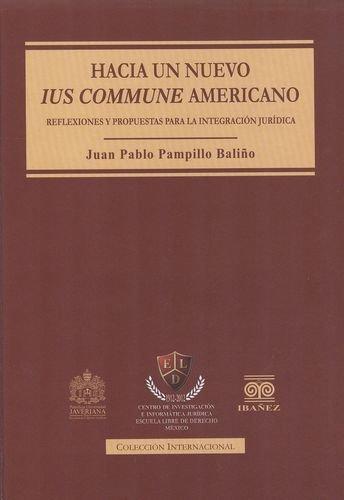 Hacia Un Nuevo Ius Commune Americano. Reflexiones Y Propuestas Para La Integracion Juridica