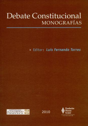 Debate Constitucional. Monografias