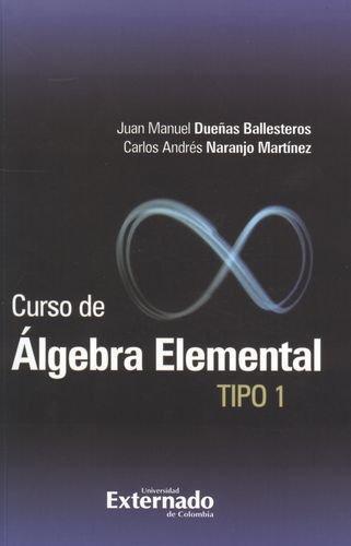 Curso De Algebra Elemental Tipo 1