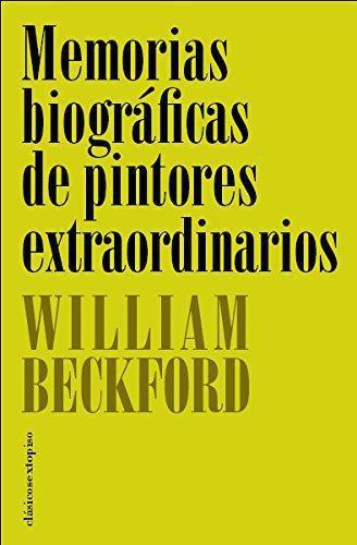 Memorias Biograficas De Pintores Extraordinarios
